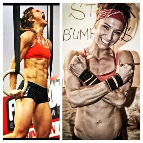 Andrea Ager hot crossfit girl