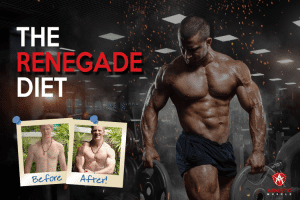 Renegade Diet before and after
