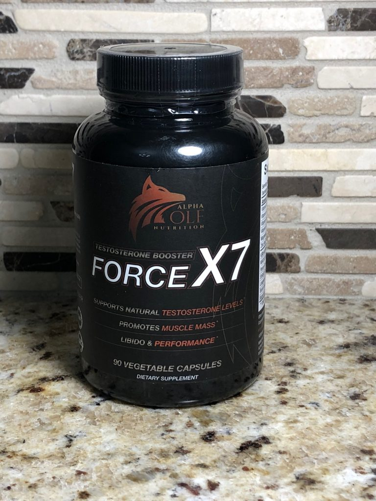 Alpha Wolf Nutrition Force X7
