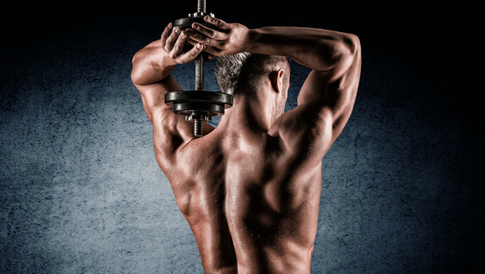 dumbell tricep workout