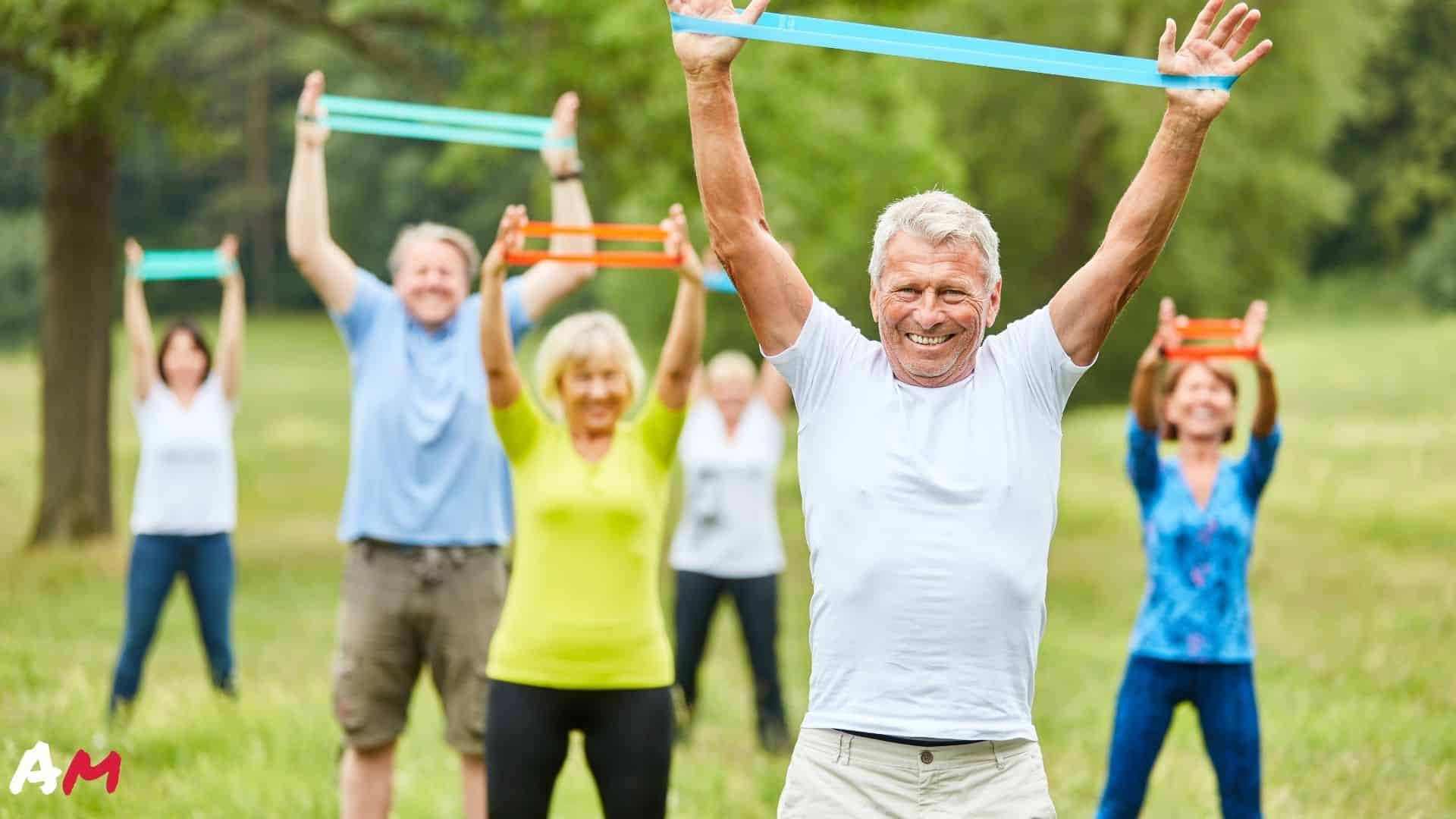 resistance band exercises for seniors