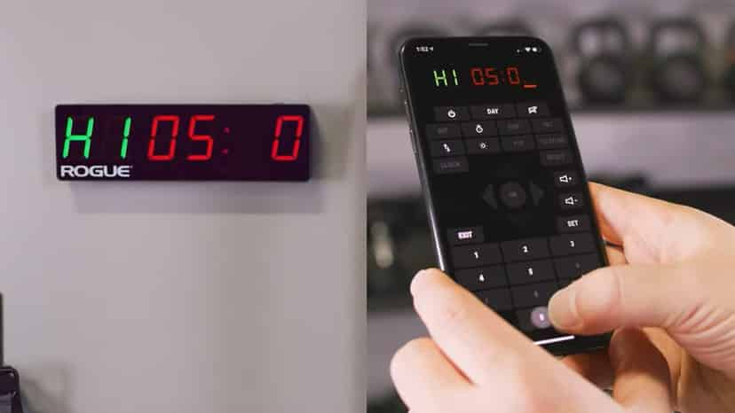 Rogue home timer with app