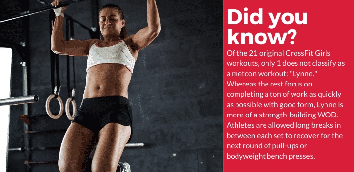 did you know - metcon workouts