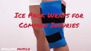ice pack wraps for common injuries